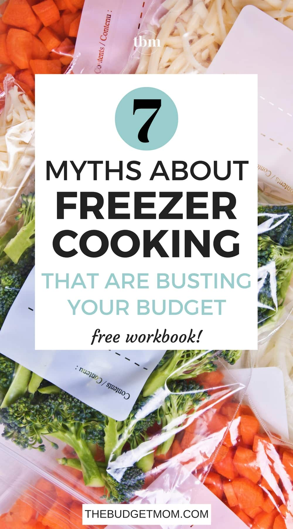 For most of you, freezer meals can seem a bit scary. Before freezing meals became familiar in my home, I was overwhelmed with the thought of preparing a bunch of meals I had no idea on how to make. The truth is, freezer cooking saves you time in the kitchen, lowers your grocery bill, and offers much-needed variety to your dinner menu. Here are seven myths about freezer cooking that might be holding you back and why these myths might be making you spend more money than you need to.