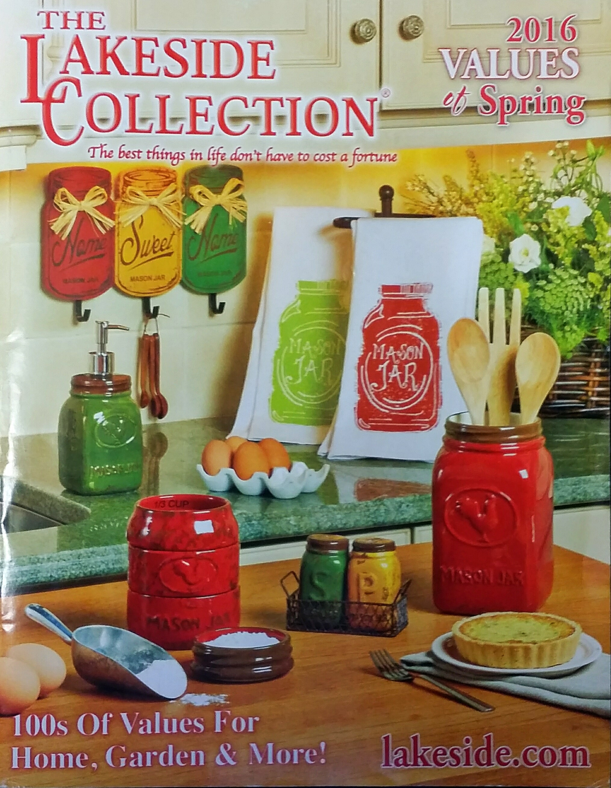 Country Mason Jar Collection