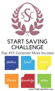save,save more,saving,money,how to save,save more,budget,more income,how to make more money,start saving challenge,day 13