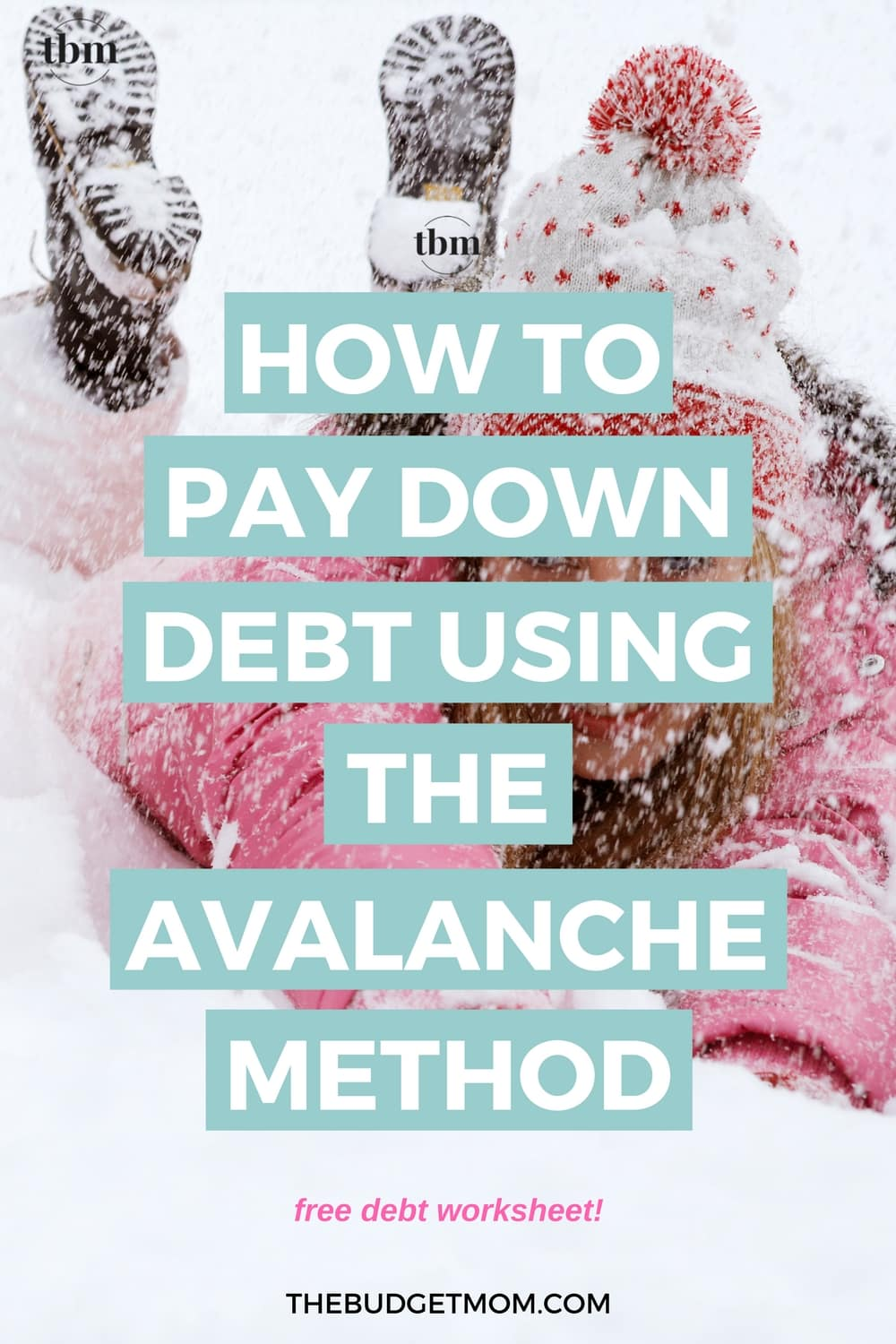 how to pay down debt using the avalanche method