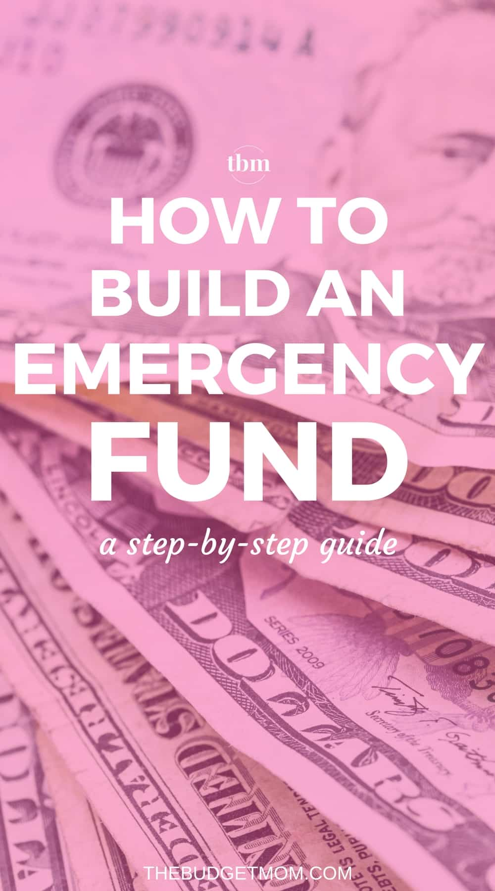 One of the most important categories in your budget is an emergency fund. Saving for life's unexpected expenses is one of the most important things you can do if you are trying to pay off debt or are living paycheck-to-paycheck. Here is a step-by-step guide on how to create and build an emergency fund that you can actually stick to.