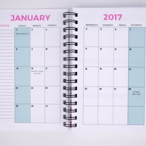 The Signature 2017 Live Rich Planner