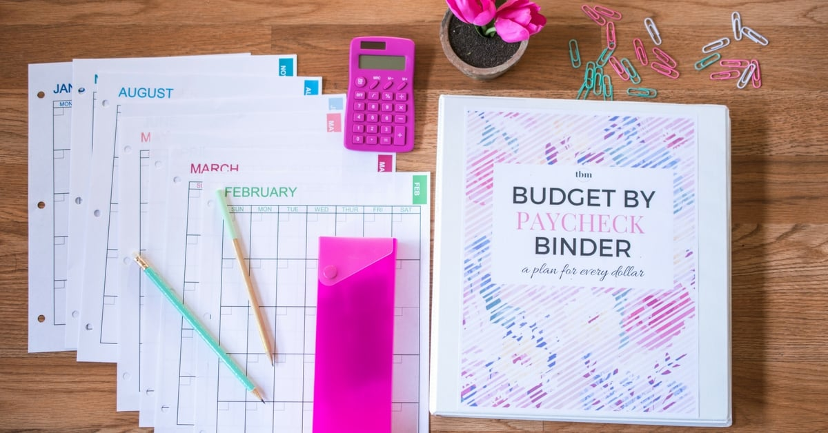 our 2017 budget binder  a plan for every dollar