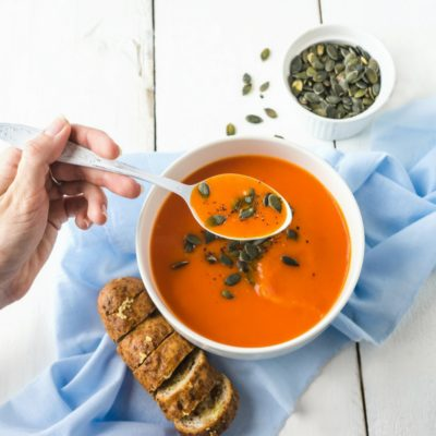 Let your slow cooker do all the work and enjoy a warm cup of soup with these easy recipes. Perfectly cooked for the cooler Fall weather!