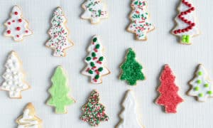 Impress everyone at your next holiday celebration with these fantastic Vanilla Sugar Cookies. The perfect addition to any cookie tray, these cut-out cookies keep their shape and are easy to decorate!