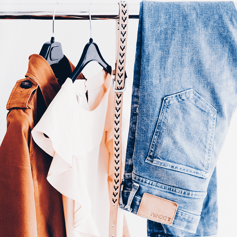 Bring new life to clothes that no longer have value.