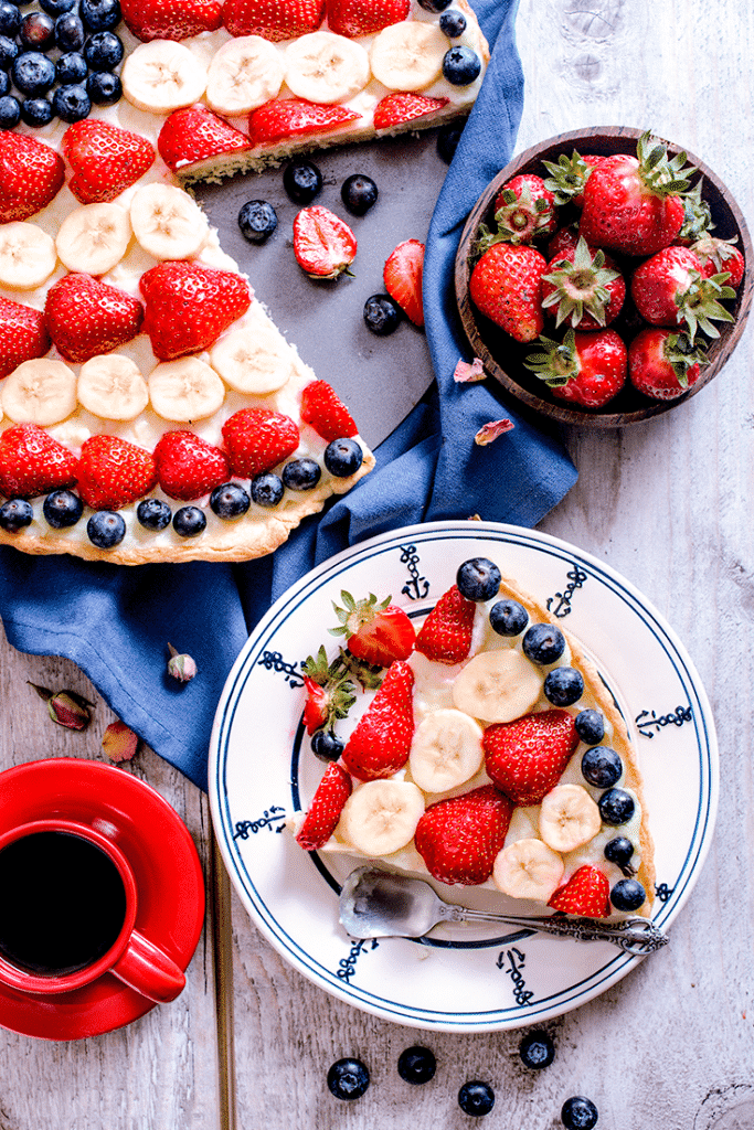 Celebrate the 4th of July with the best backyard party food and desserts. Simple red, white, and blue recipes that will have you covered on Independence Day!