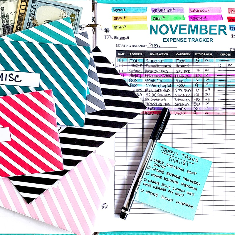 Budgeting is a lifestyle, and for you to make it a habit and a permanent part of your routine, you need to work on it every single day.
