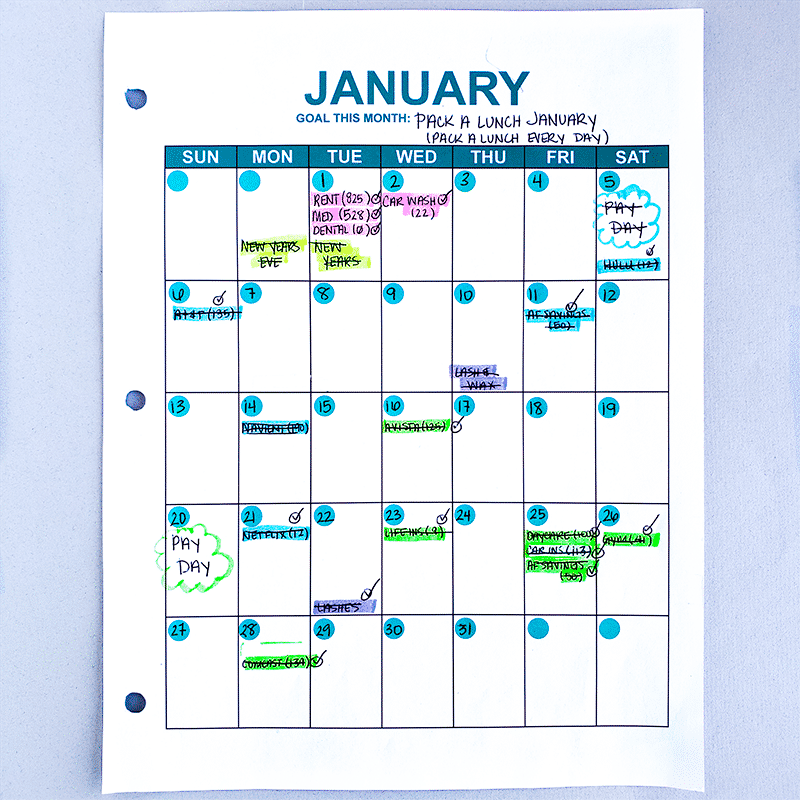 A Budget Calendar can help you create a realistic budget and organize your finances. When it comes to paying your bills and saving money, a budget calendar is a lifesaver, time saver, stress saver, and a money saver.